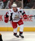 Derek Meech skates near the boards in a Grand Rapids Griffins game against the Texas Stars.