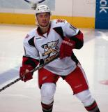Jamie Johnson skates at the blue line in a Grand Rapids Griffins game against the Texas Stars.