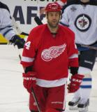 Todd Bertuzzi skates back to the bench.