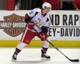 Gustav Nyquist skates near the boards during pre-game warmups before a Grand Rapids Griffins game.