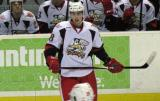Tomas Jurco skates away from the bench during a stop in play in a Grand Rapids Griffins game.