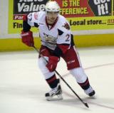 Tomas Tatar follows the puck during a Grand Rapids Griffins game.