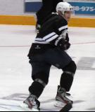 "Sergei Samsonov skates back on defense during the ""Rock Out the Lockout"" charity game."