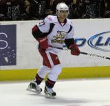 Tomas Tatar skates along the boards during a Grand Rapids Griffins game.