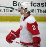 Brendan Smith skates during a stop in play in the Red and White Game.