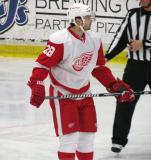 Carlo Colaiacovo skates during a stop in play in the Red and White Game.