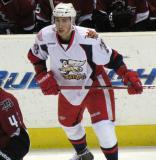 Tomas Jurco skates away from the boards during a Grand Rapids Griffins game.