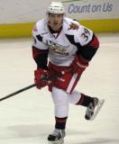 Jan Mursak skates out of the offensive zone during a Grand Rapids Griffins game.