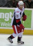 Calle Jarnkrok skates during pre-game warmups before a Grand Rapids Griffins game.