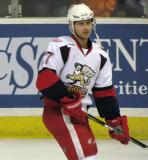 Tomas Tatar skates during pre-game warmups before a Grand Rapids Griffins game.