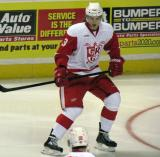 Alexey Marchenko skates in his own zone during a Grand Rapids Griffins game.