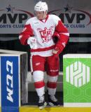 Gustav Nyquist steps onto the ice as the second star of a Grand Rapids Griffins game.