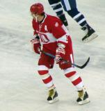 Sergei Fedorov skates in the second Alumni Showdown game.