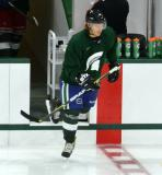 David Booth steps onto the ice for a session at the 2014 MSU Pro Camp.