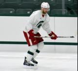 Jakub Kindl skates during a session at the 2014 MSU Pro Camp.