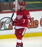 Daniel Cleary skates during a stop in play in a preseason game.