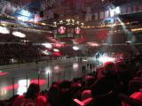 Joe Louis Arena during the pre-game ceremony at the Red Wings' 2014 home opener.