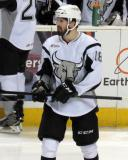 John McFarland of the San Antonio Rampage skates during a stop in play in a game against the Grand Rapids Griffins.