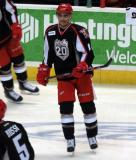 Andreas Athanasiou skates during pre-game warmups before a Grand Rapids Griffins game.