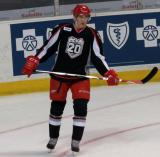 Tomas Nosek skates near the corner during pre-game warmups before a Grand Rapids Griffins game.