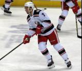 Ryan Sproul skates in the neutral zone during pre-game warmups before a Grand Rapids Griffins game.