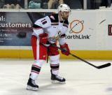 Brian Lashoff skates during a Grand Rapids Griffins game.