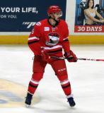 Trevor Carrick of the Charlotte Checkers skates during a game against the Grand Rapids Griffins.