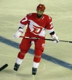 Kyle Quincey skates during the Stadium Series game in Denver.