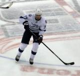 Victor Hedman of the Tampa Bay Lightning skates in the neutral zone before a game against the Detroit Red Wings.