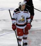 Tyler Bertuzzi skates at center ice during a stop in a Grand Rapids Griffins game.