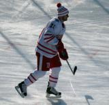 Tomas Tatar skates during pre-game warmups before the Centennial Classic.