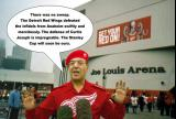 "The Iraqi Informaton Minister explains the ""truth"" about the Red Wings' first-round series with Anaheim in 2003."
