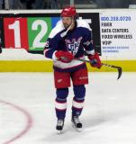 Eric Tangradi skates during the Grand Rapids Griffins' Purple Game.