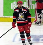 Nathan Paetsch skates during pre-game warmups before Game Six of the Calder Cup Finals between the Grand Rapids Griffins and Syracuse Crunch.