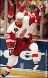 Darren McCarty celebrates scoring the eventual Stanley Cup-winning goal in 1997.