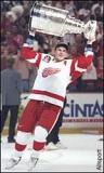 Sergei Fedorov does a victory lap with the Stanley Cup after the 1997 Finals.