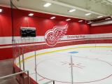 The south end of the Red Wings' practice facility.