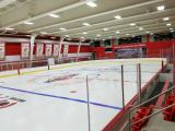 The north end of the Red Wings' practice facility.