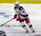 Matt Lorito of the Grand Rapids Griffins skates during pre-game warmups before a game against the San Antonio Rampage.