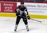 Vladislav Kamenev of the San Antonio Rampage gets open for a pass during a game against the Grand Rapids Griffins.
