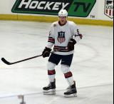 Connor Murphy skates during the 2018 Stars & Stripes Showdown.