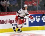 Libor Sulak skates out of the corner during a game between the Grand Rapids Griffins and the Chicago Wolves.